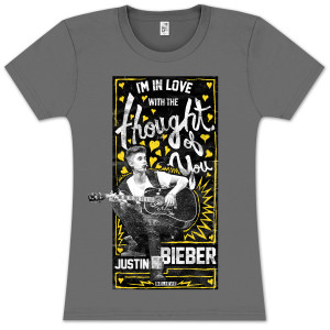 Justin Bieber Thought of You Sketch Junior T-Shirt