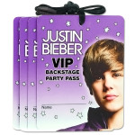 Justin Bieber VIP Name Badge Necklaces