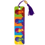 Justin Bieber Colors Bookmark