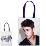 Justin Beiber Tour Photo Tote