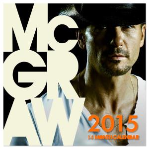 Tim McGraw 2015 Calendar