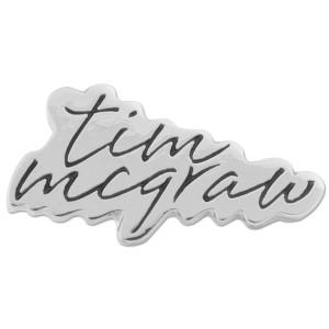 Tim McGraw Lapel Pin