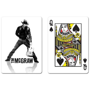 Tim McGraw Playing Cards