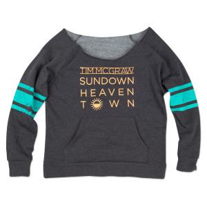 Sundown Heaven Town Ladies Sweatshirt