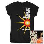 Sundown Heaven Town Deluxe CD + Ladies T-shirt Combo