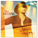 Tim McGraw 'Two Lanes of Freedom' CD (2013)