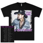 Tim McGraw Sundown Heaven Town Tour T-shirt