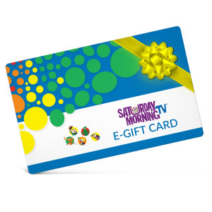 Saturday Morning TV Electronic Gift Certificate