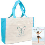 Yogalosophy Crystal Tote Bag & DVD Bundle