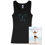 Yogalosophy Black Tank & DVD Bundle