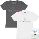 Yogalosophy Ladies Tee & DVD Bundle