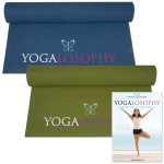 Mandy Ingber Yogalosophy Manduka 3mm Yoga Mat & DVD Bundle