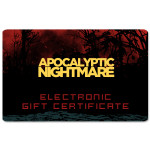 Apocalyptic Nightmare Electronic Gift Certificate