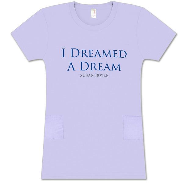 Susan Boyle Dreamed Violet Sleep Shirt
