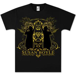 Susan Boyle A Dream Black T-Shirt