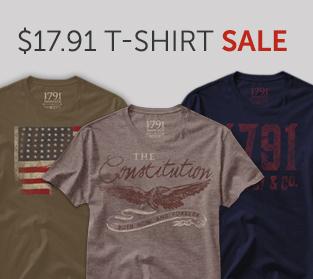 Black Friday 1791 T-Shirt Sale