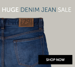 Black Friday 1791 Denim Jean Sale