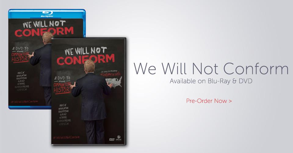 Glenn Beck We Will Not Conform DVD