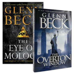 The Eye of Moloch + The Overton Window Autographed Book Bundle