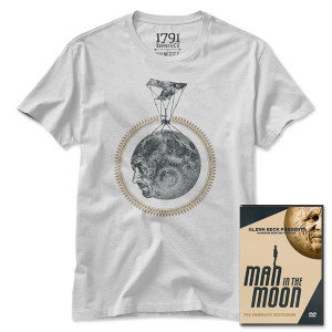 Man in the Moon DVD & Official Event T-Shirt Bundle