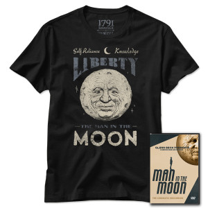 Man in the Moon DVD & Official T-Shirt Bundle