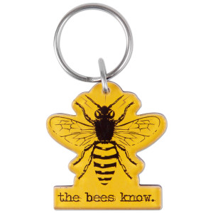 Glenn Beck The Bees Know Keychain