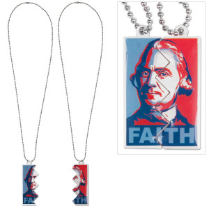 Glenn Beck Faith Necklace