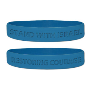 Glenn Beck Stand With Israel Wristband