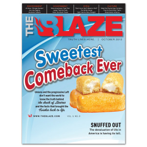 The Blaze October 2013 (Vol. 3, Issue 8)