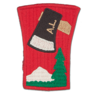 1791 Abraham Lincoln Axe Patch