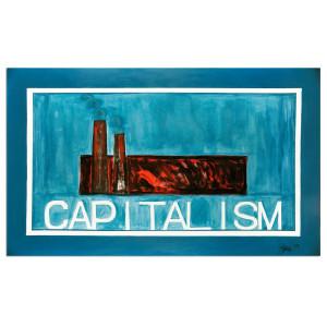 Glenn Beck Capitalism Lithograph