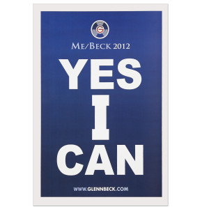 Glenn Beck Yes I Can! Lithograph