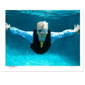 Glenn Beck Signed Underwater Print