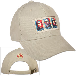 Glenn Beck Faith Hope Charity Hat
