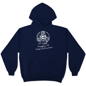 Glenn Beck Weapon of Mass Instruction Hooded Sweatshirt