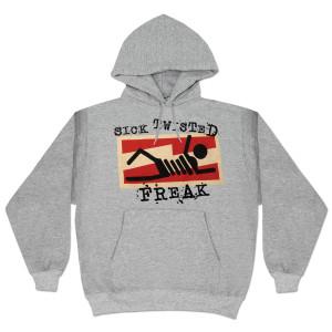 Glenn Beck Sick Twisted Freak Hooded Sweatshirt