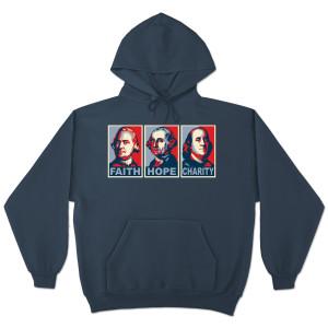 Glenn Beck Faith Hope Charity Hooded Sweatshirt
