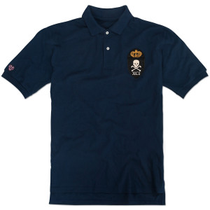 1791 Death to Tyranny Polo Navy