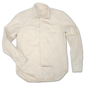 1791 Natural Canvas Work-Shirt