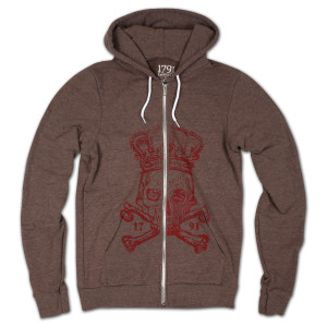 1791 Death to Tyranny Hoodie