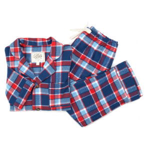 Clara Janssen Kids Americana Plaid Pajamas