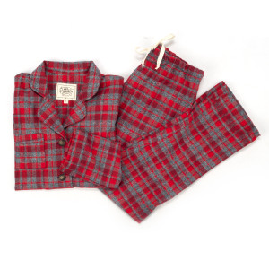 Clara Janssen Women's Washington Plaid Pajamas