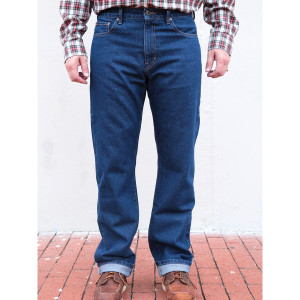 Edward Janssen Relaxed Fit Dark Wash Jean