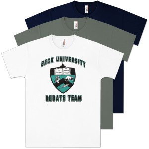 Glenn Beck University Debate Team T-Shirt