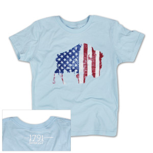 1791 Buffalo Freedom Youth Girls T-Shirt