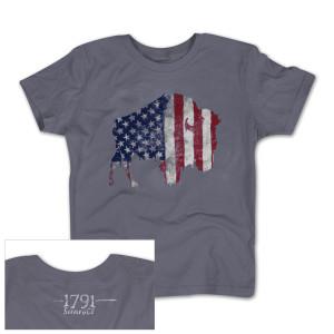 1791 Buffalo Freedom Youth Boys T-Shirt