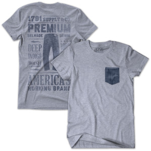 1791 Denim Proclamation T-Shirt