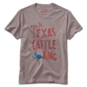 1791 Texas Cattle King T-Shirt