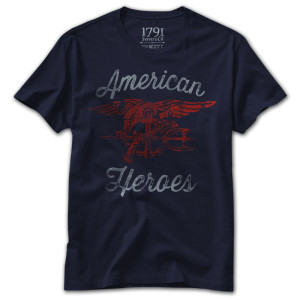 1791 American Heroes Charity T-Shirt