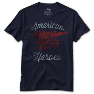 1791 American Heroes Charity T-Shirt